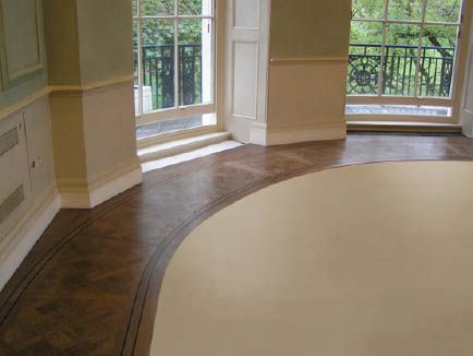 Carpet inlay in wooden floor. Carpet inlay in wooden floor   redecorating our home   Pinterest