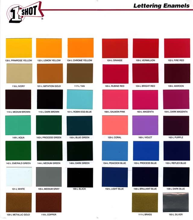 Car Paint Colors Effy Moom In 2020 Paint Color Chart Metallic Paint Colors Car Paint Colors