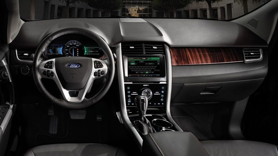 Ford Edge Interior Ford Edge Ford Edge Limited Lease Deals