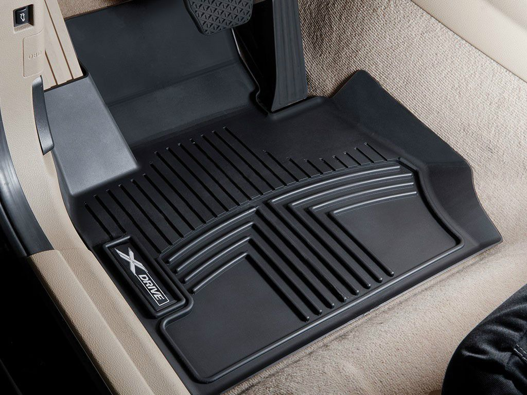 Bmw E84 X1 Xdrive Only All Weather Floor Liners Molded Mats Black Front And Rear Con Imagenes