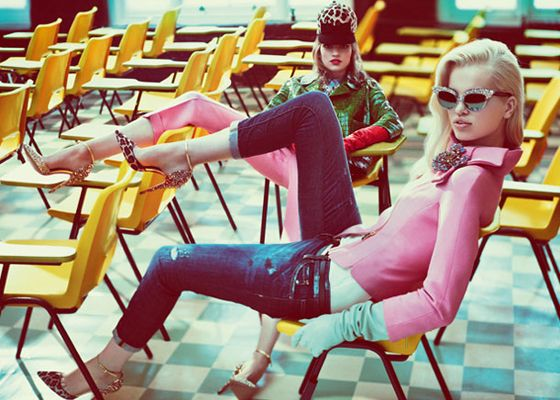 MAMA WE ALL GO TO HELL: 60's Prom by Dsquared2