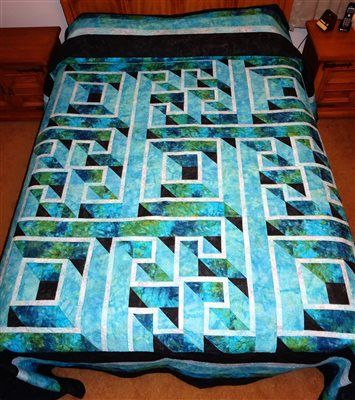 labyrinth quilt - Quilters Club of America | Projects to try ... : quilt club of america - Adamdwight.com