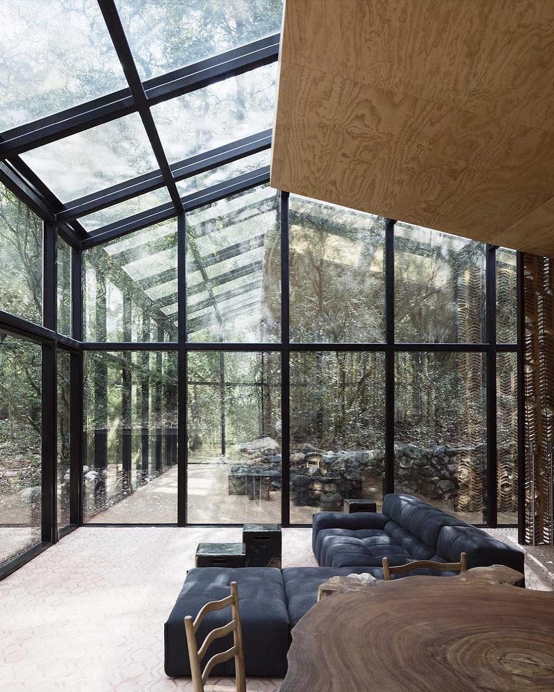 Das Wohnzimmer Direkt An Der Natur   So Stilvoll Lässt Sich In Mexiko  Wohnen. 🇲