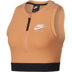 Nike Air Crop Top für Damen - Orange Nike #cutecroptops