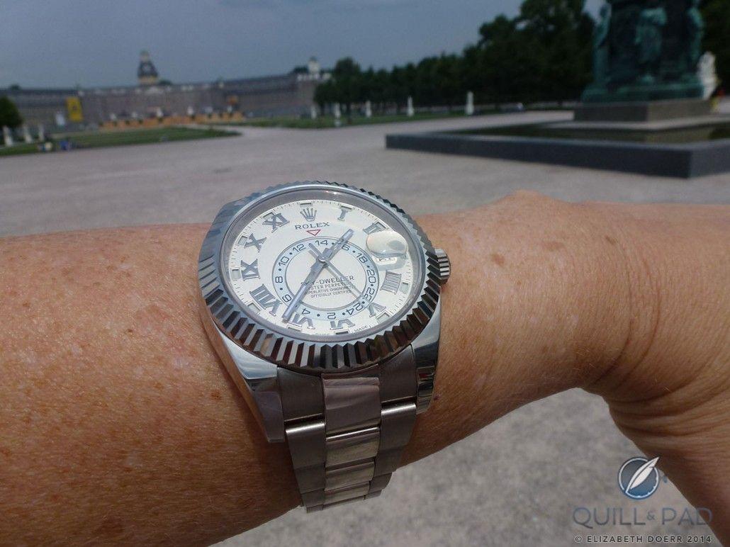 Rolex Sky,Dweller on the wrist with Karlsruhe, Germany\u0027s