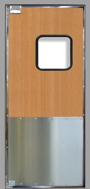"SCP-6 Door : 3/4"" exterior grade solid wood core, 1"" total door on"