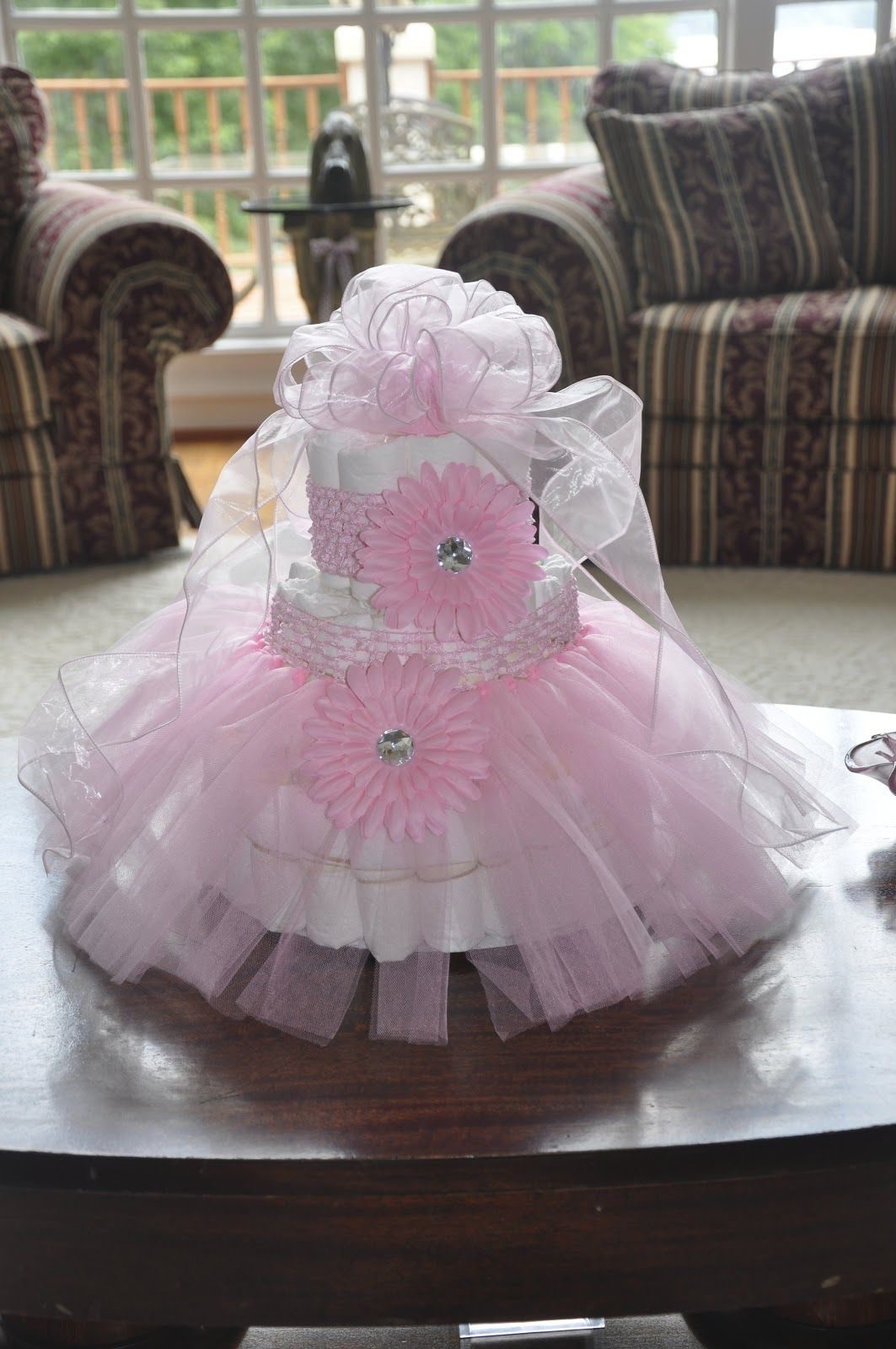 34++ Baby shower diaper cakes for a girl trends