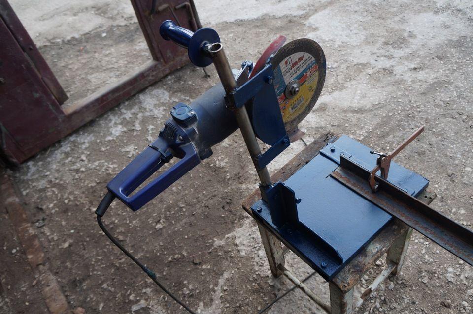 сделать станок для резки металла из болгарки