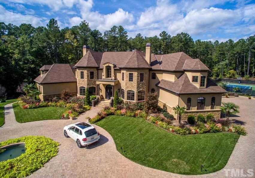13,000 Square Foot European Inspired Stone and Stucco