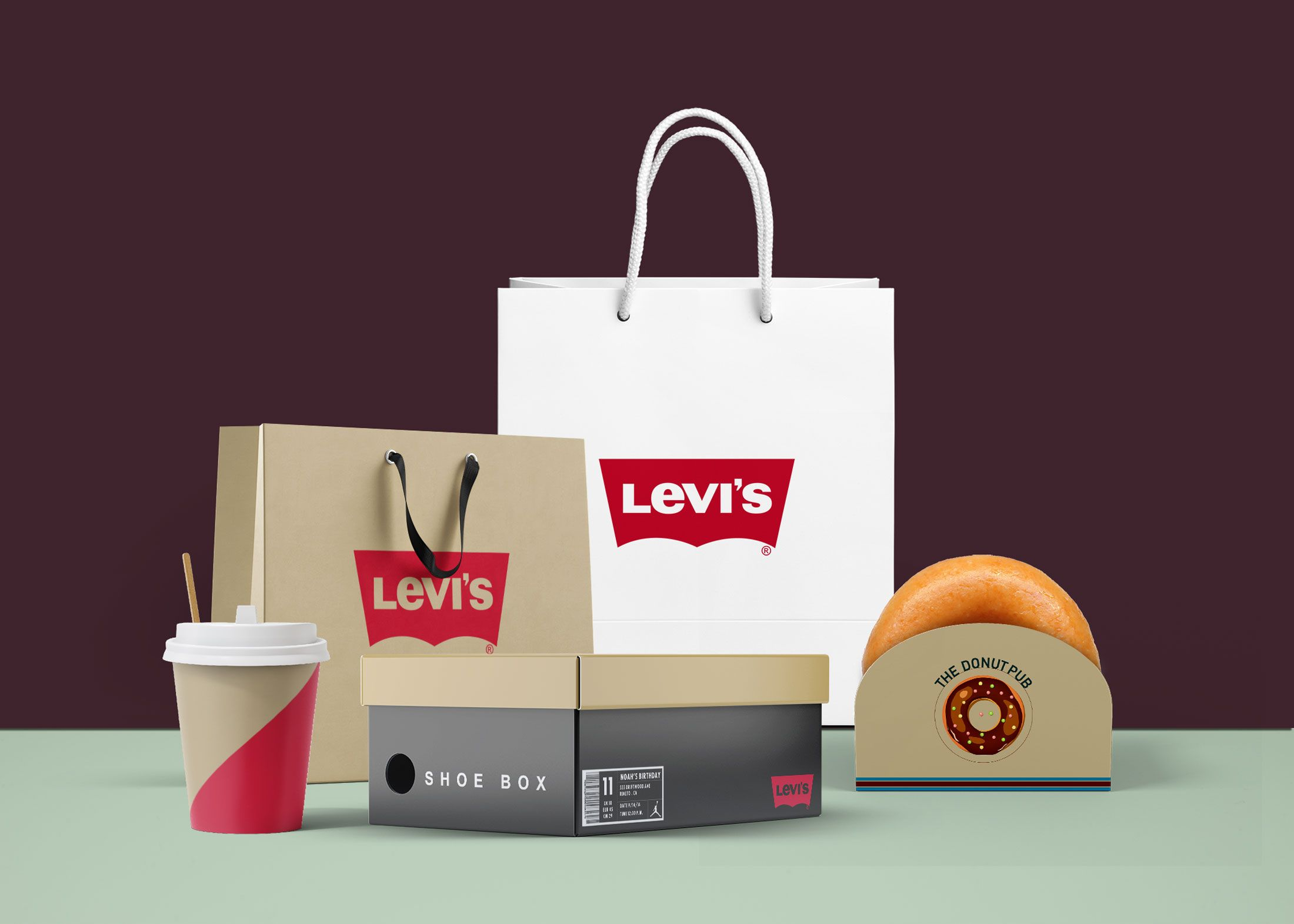 Download In Order To Help You Present A Logo Design Mockup To Your Client In A Super Polished Way We Ve Gathered Mockup Free Psd Free Logo Mockup Psd Packaging Mockup