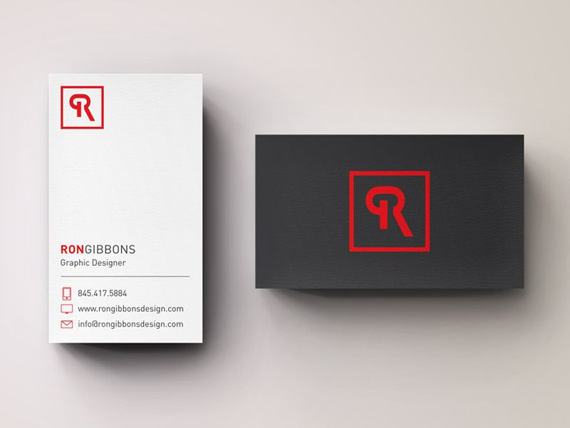 Personal Business Cards Print Branding Packaging Inspiration
