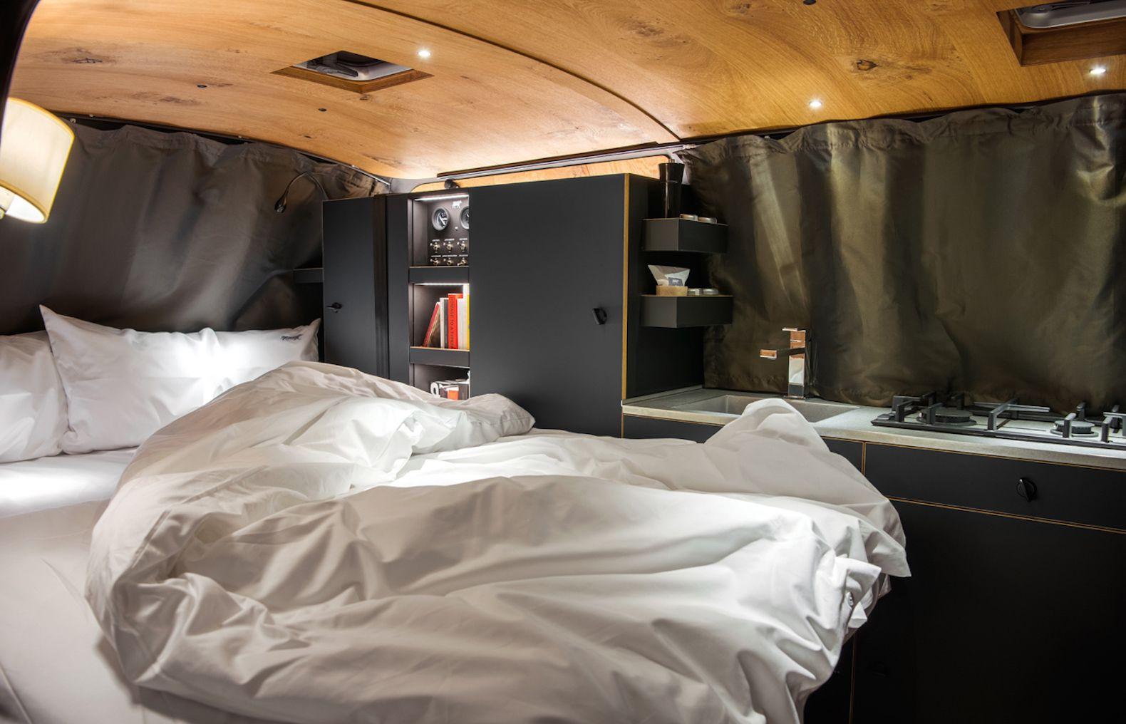 Nondescript Vw Van Hides A Gorgeous And Chic Mobile Home Vw Vans