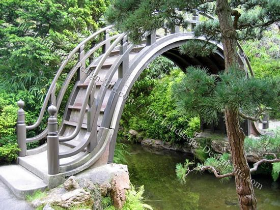 very small bridges return to japanese garden ideas and pictures - Japanese Garden Bridge Design