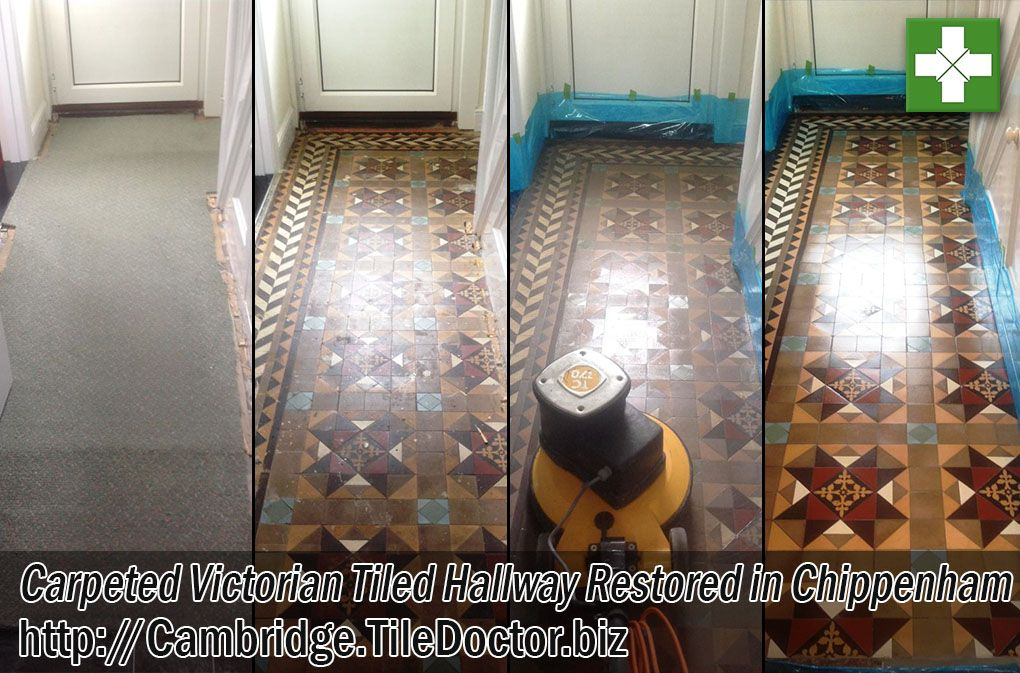 Edwardian Style Tiled Floors Are Very Much Of A Likeness With