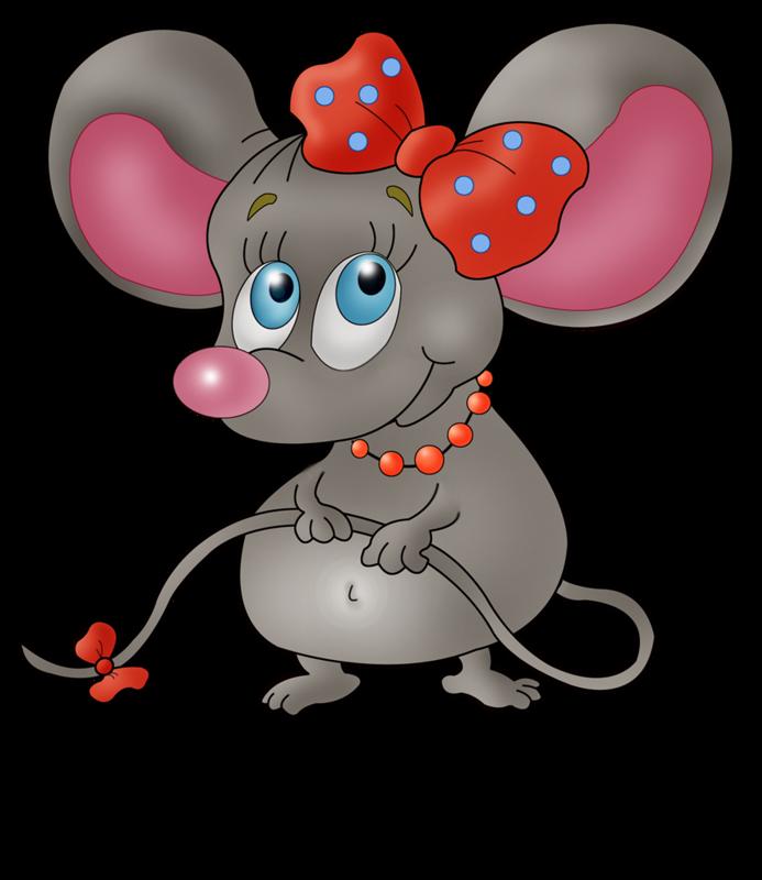 Веселый мышонок рисунок