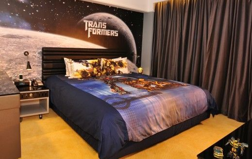 Transformers Themed Bedroom We Had A High Tech Coffee