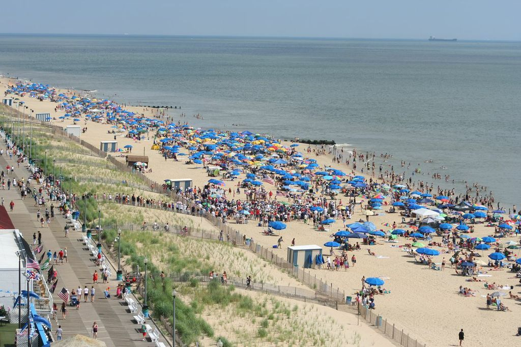 Rehoboth Beach Delaware From Above I Took This The Top Of Star