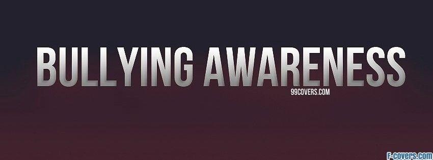 bullying awareness facebook cover