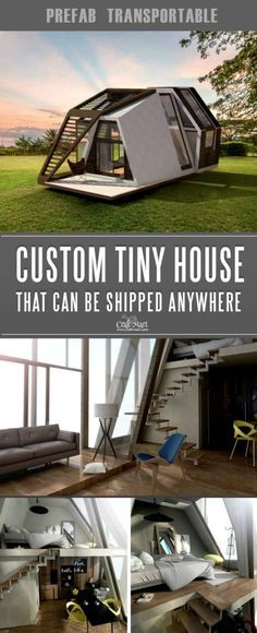 Custom tiny house that you can order from anywhere in the world! Look at these absolutely awesome tiny houses that you can afford! Some are 100% sustainable and do NOT need any utilities besides internet! You can add custom features from most of the tiny home builders. Keep dreaming on or take an action and get one of these little affordable homes!#tinyhouseplans #tinyhome #tinyhouses #diywoodcrafts #diyproject #realestate #smallhouseplans