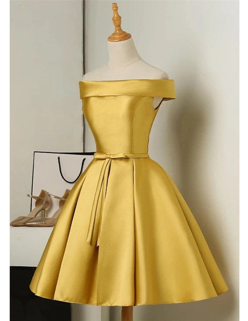 Satin Semi Formal Evening Dresses