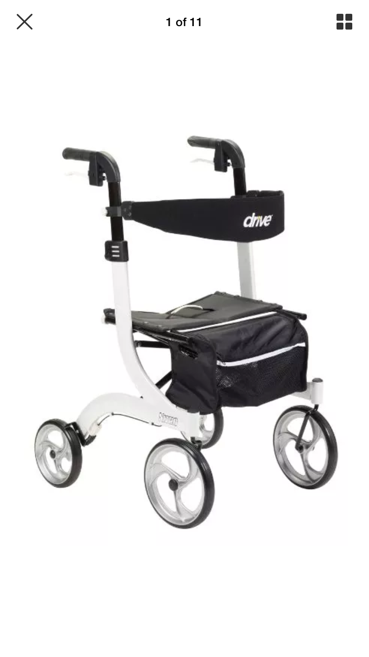 My scooting walker 🚶🏿♀️ Euro style, Medical, Driving