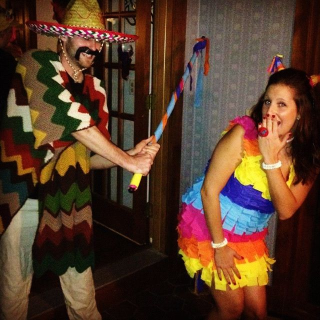 Halloween homemade piñata and a mexican costume  sc 1 st  Pinterest & Halloween homemade piñata and a mexican costume | DIY | Pinterest ...