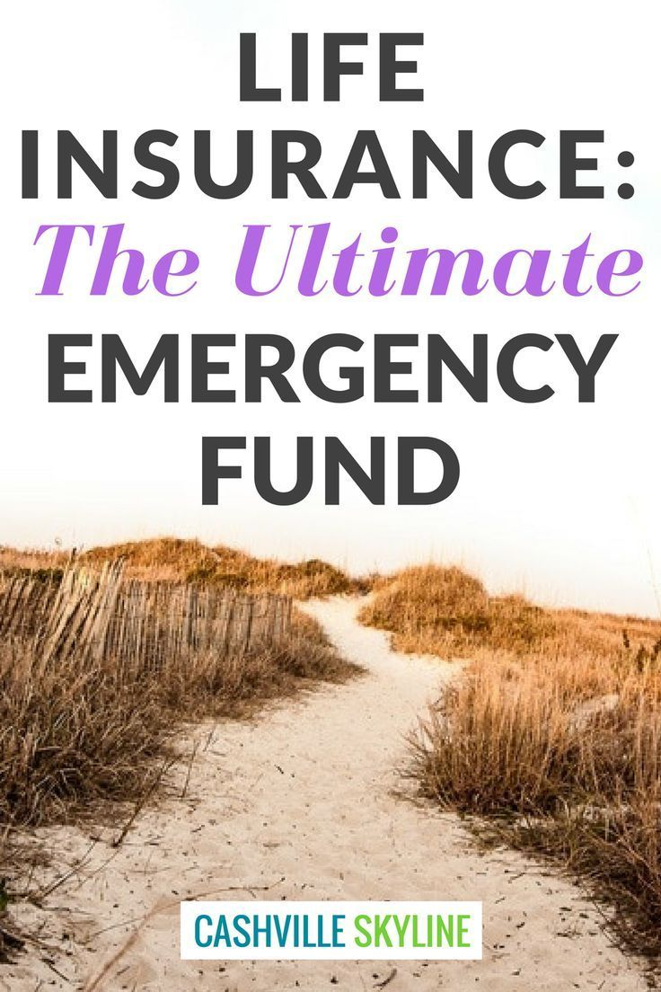 Life Insurance The Ultimate Emergency Fund For Your Family Life