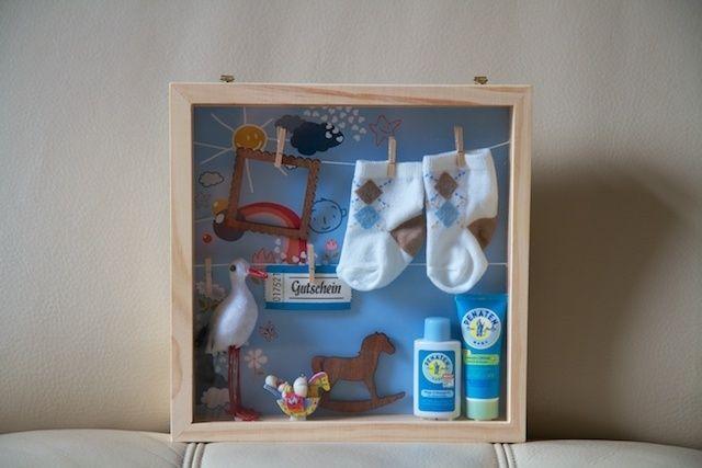 gutschein für baby verpacken