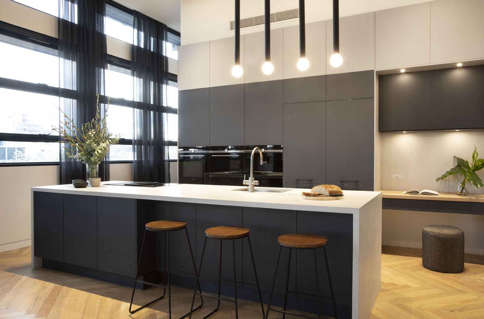 The Block Kitchen Reveal The block kitchen, 2 colour