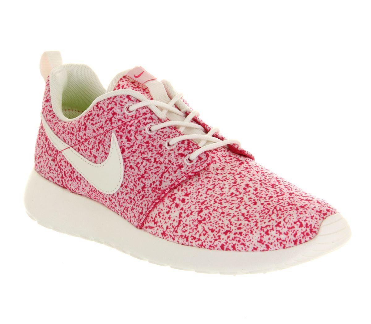 Nike Womens Rosherun Roushe Run Sail Pink Force