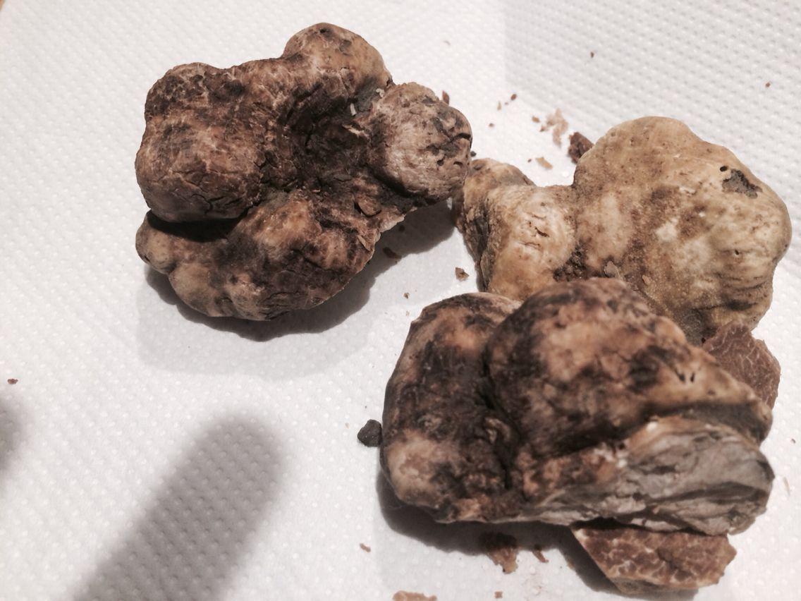 120 grams of White Truffles from Alba! Were delicious! #ombreblu
