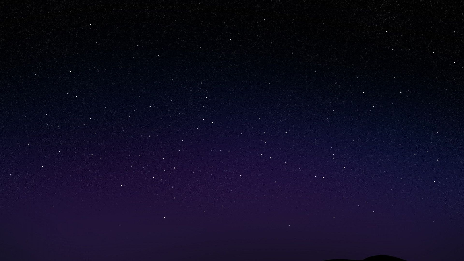 1920x1080 Starry Night Sky desktop PC and Mac wallpaper