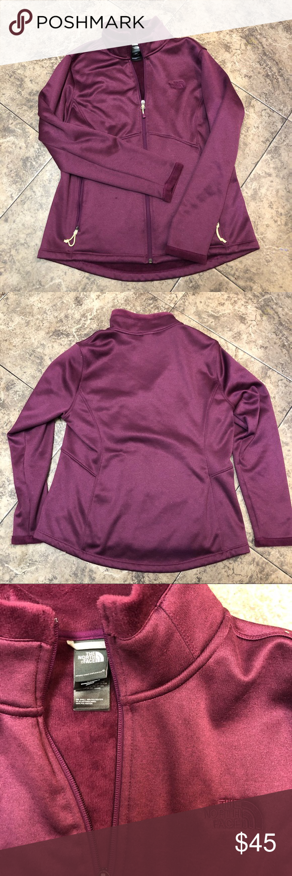 Maroon Plum North Face Zip Up Zip Ups North Face Jacket Clothes Design [ 1740 x 580 Pixel ]
