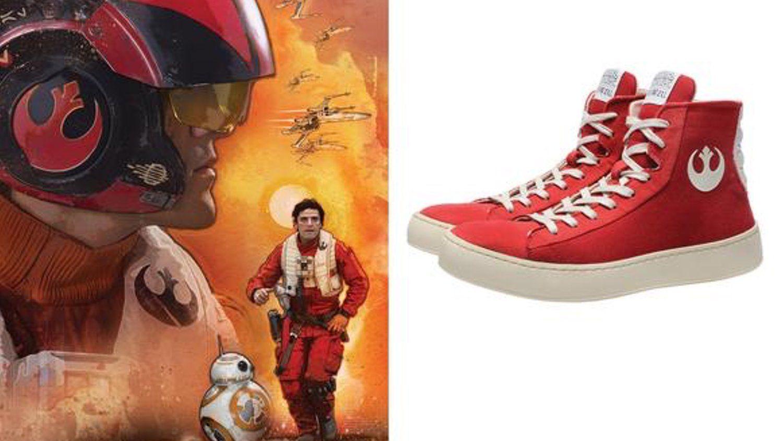 Cool Star Wars Sneakers Inspired by Poe Dameron — GeekTyrant