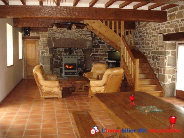 longère en pierres entièrement rénovée avec des matériaux nobles et - assainissement d une maison