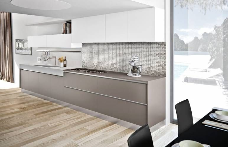 Glass di Arredo3 Cucine in vetro vulcano opaco. | Cucine showroom ...