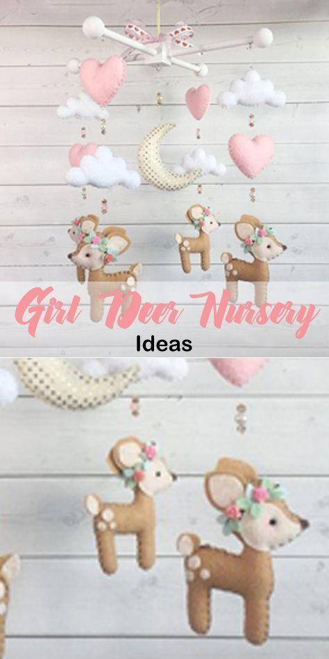 Photo of Mädchen Deer Nursery – Cute Baby Room – Ein schlaueres Leben