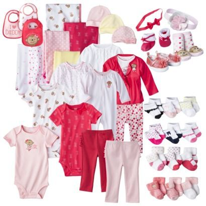 1bdda66f5 BABY GIRL CLOTHES | Target | Just One You™Made by Carter's® Newborn Girls'  Monkey Ballet Collection