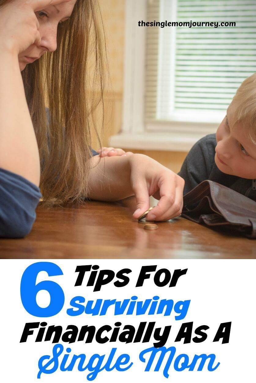As a single mom nothing is more daunting than the task of providing financially for your child Learn how to survive financially as a newly single mom You are in the right...