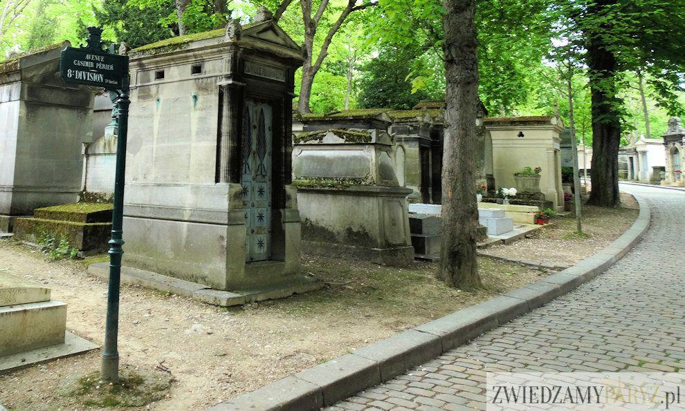 Cmentarz Pere Lachaise w Paryżu