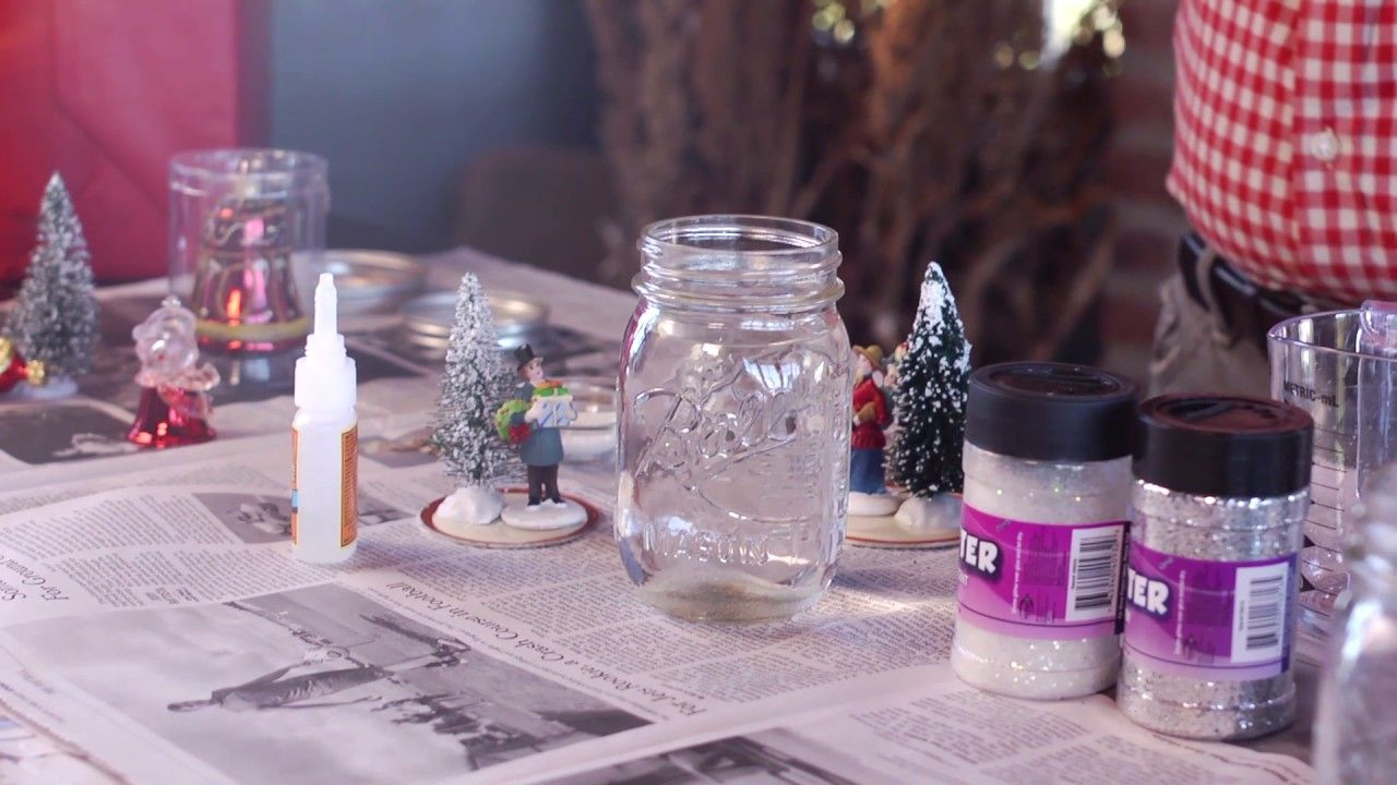 DIY Snow Globes P. Allen Smith (With images) Diy snow