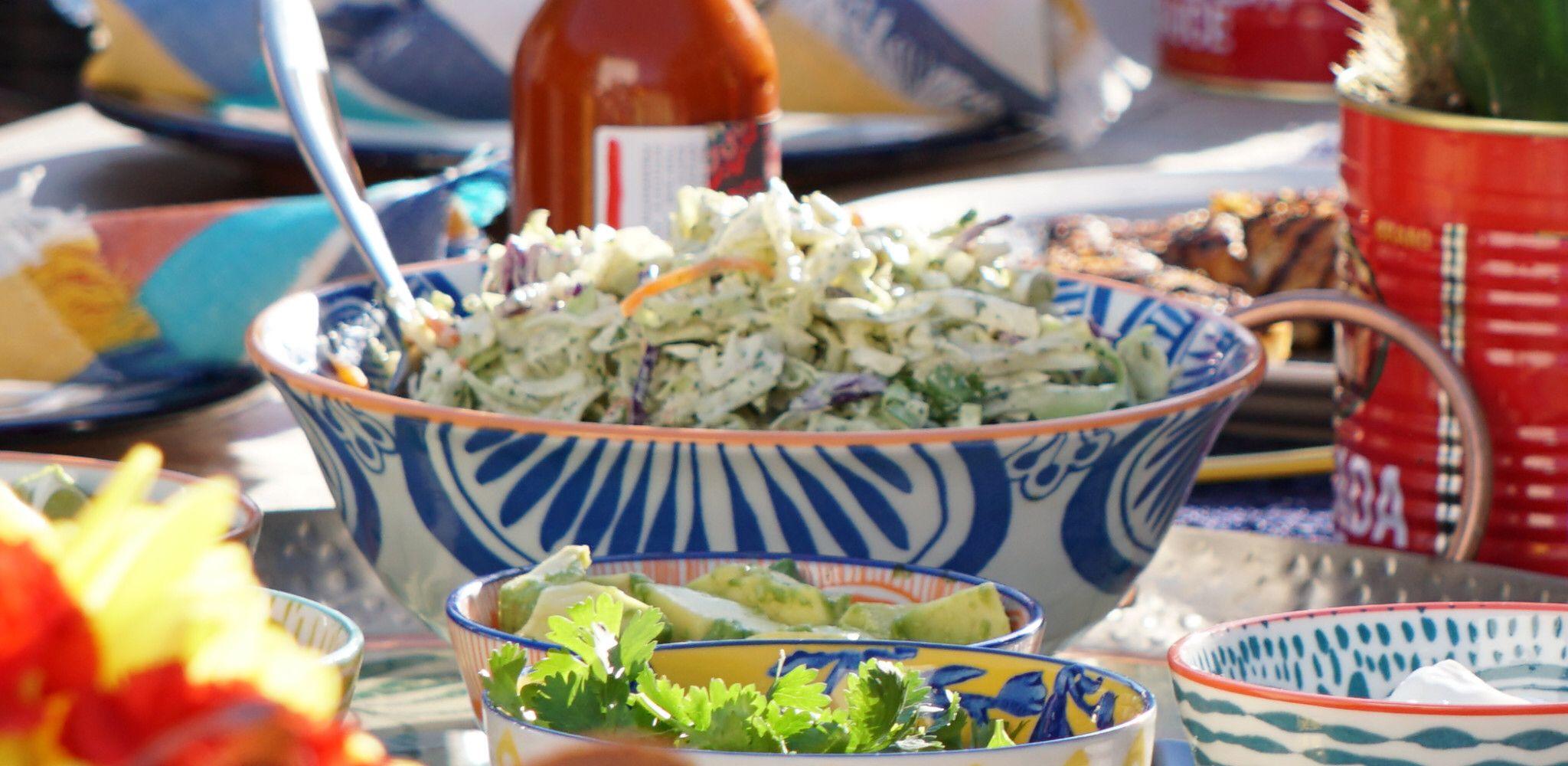 Jalapeno Ranch Slaw Recipe in 2020 Food network