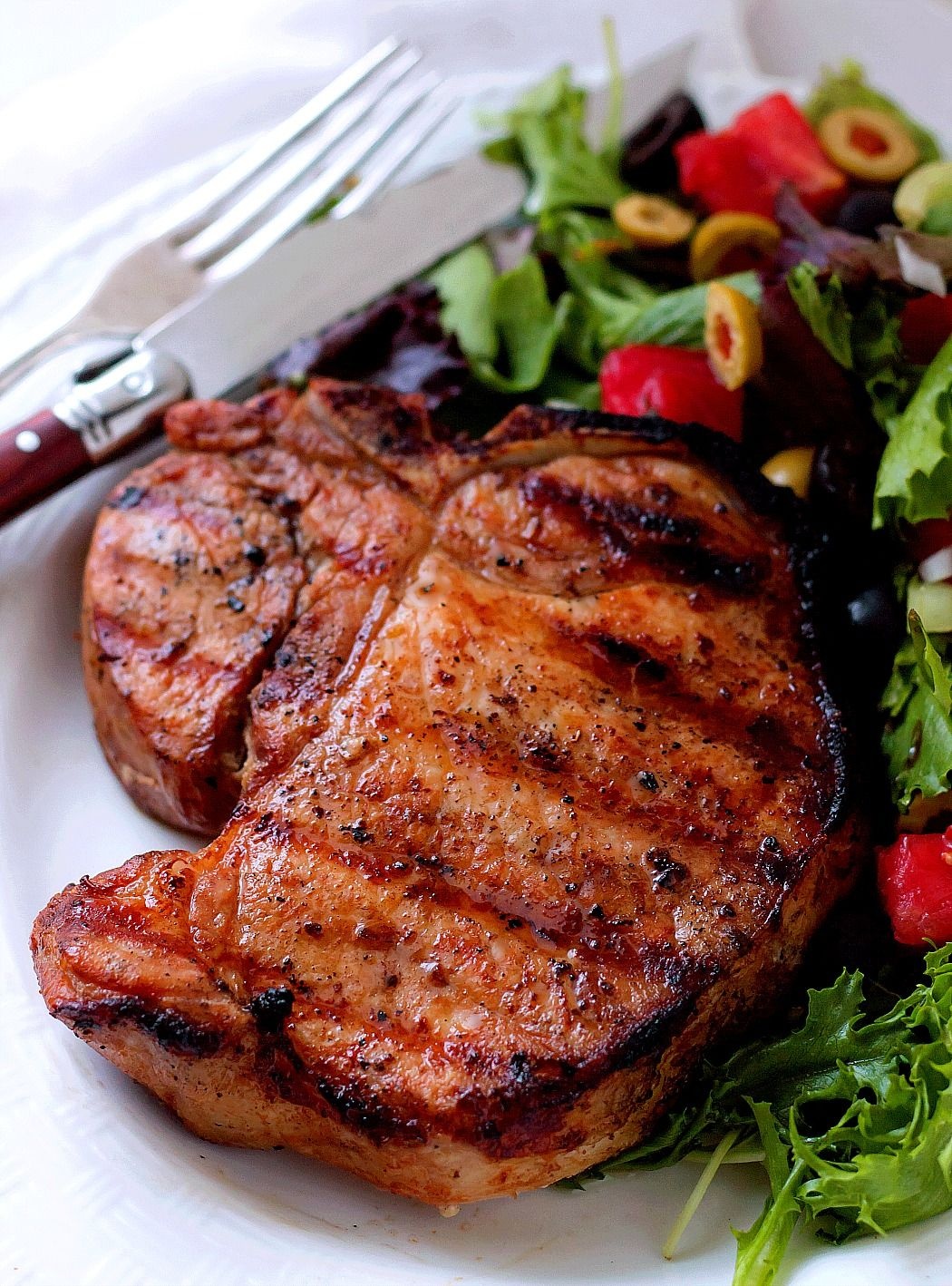 Grilled pork chop marinade will make your grilled pork chops grilled pork chop marinade will make your grilled pork chops tender juicy and delicious ccuart Image collections