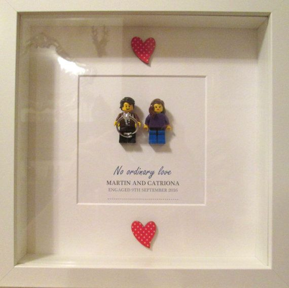 Doctor Who Wedding Gift or Engagement Gift - Personalised Lego ...