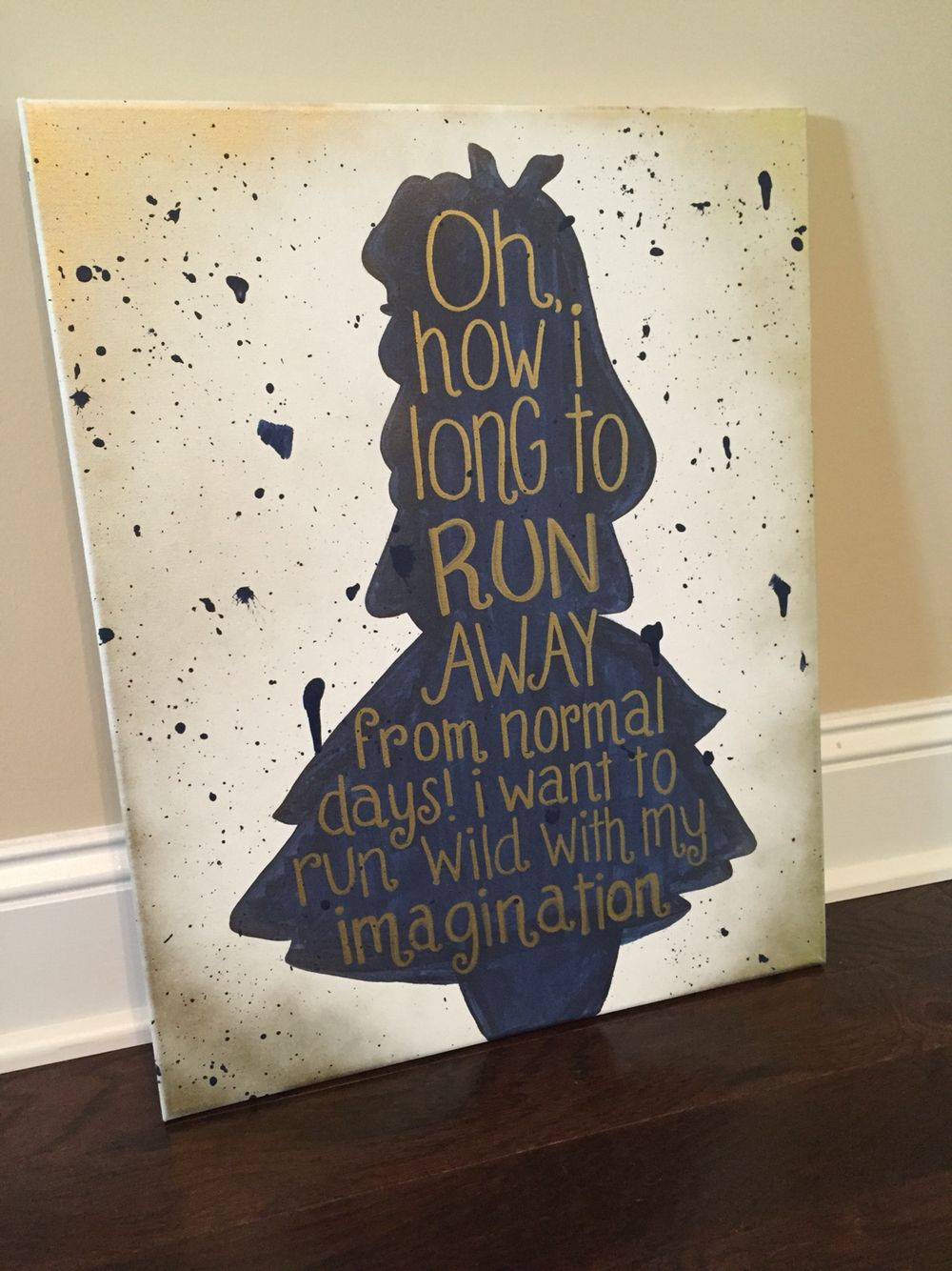 Custom Framed Quote Alice In | Book Quote Etsy,Mad Hatter