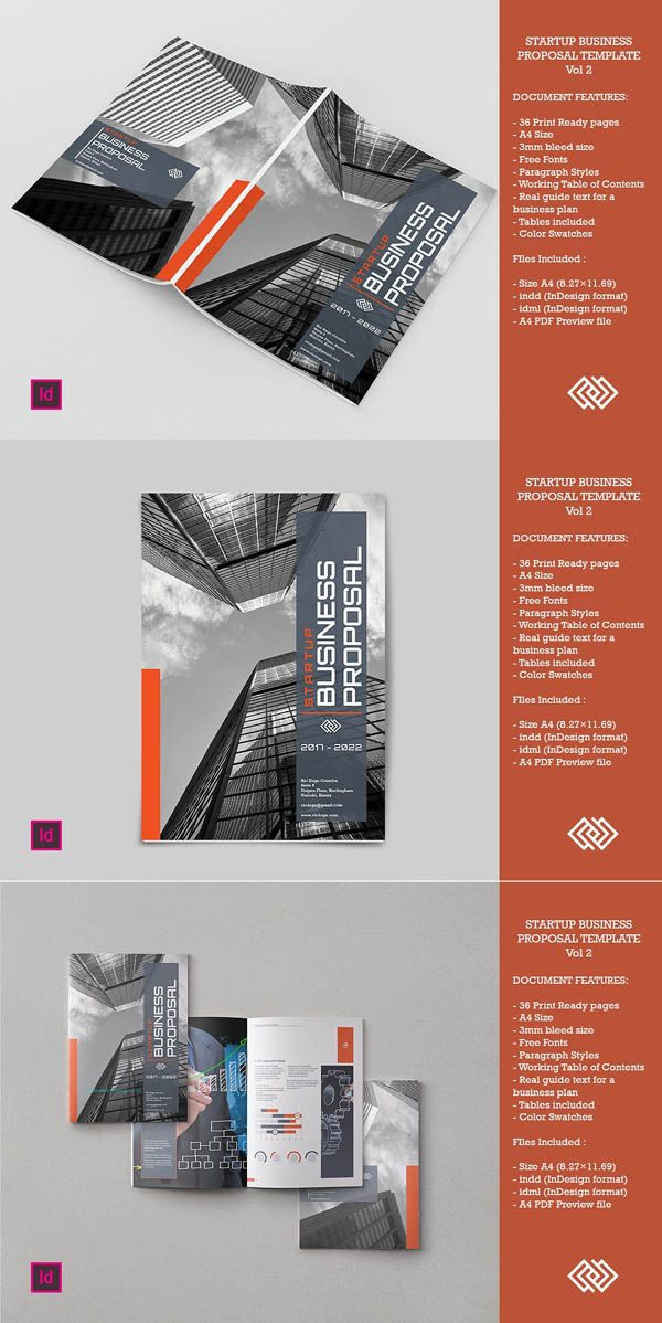 Startup Business Proposal Vol 2 | Inspiration | Pinterest | Business ...