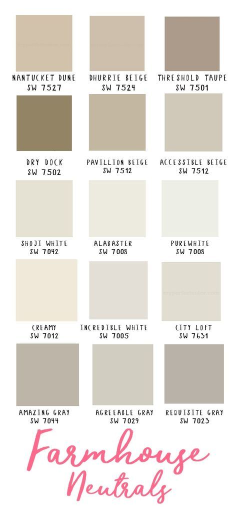 Farmhouse Paint Colors Sherwin Williams Home 22 Super Ideas #exteriorhousecolors