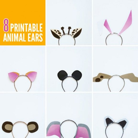 free printable animal ears with animal jam best of pinterest