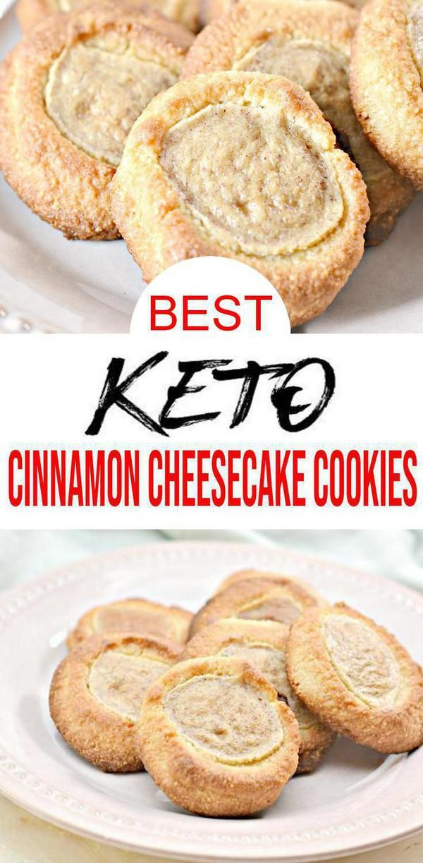 Check out these keto Cinnamon Cheesecake cookies Tasty  delish Cinnamon Cheesecake Cookies  or make mini cookies  homemade not store bought low carb keto cookies Great ke...