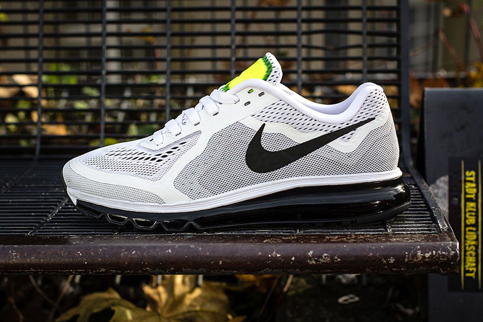 Authentic Nike Shoes Nike Air Max 2014 Pure PlatinumVolt